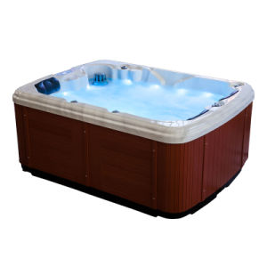 European Style Whirlpool Acrylic Hot Tub Swimming Bathtub Freestanding pictures & photos