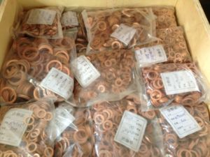 Copper Gasket, Copper Washer pictures & photos