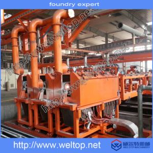 Three-Station Fully Automatic Centrifugal Casting Machine for Pipe Casting