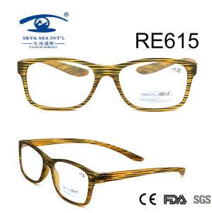 2017 Stripe Colorful Reading Glasses (RE615) pictures & photos