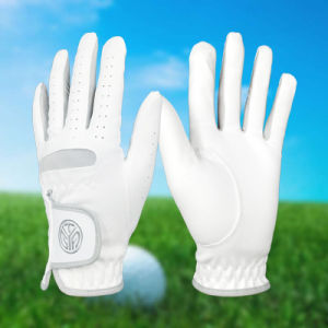 Custom Men′s Microfiber Cloth Breathable Wear-Resistant Golf Gloves