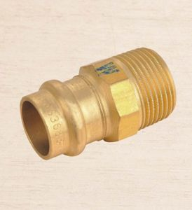 Union with Flat Joint-Brass Pipe Fittings