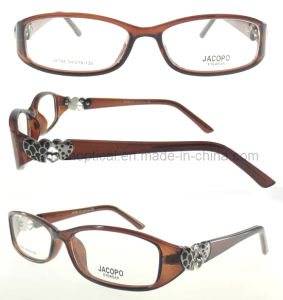New Style Plastic Optical Frames, Beautiful Color Eyeglasses Frame (OCP310093) pictures & photos