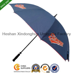 Automatic Windproof Fiberglass Golf Umbrella with Personalized Logo (GOL-0027FW) pictures & photos