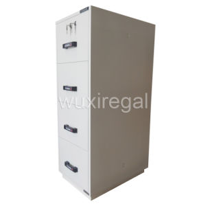 Fireproof File Cabinet, 1 Hour Vertical Cabinet (680FRD-4002) pictures & photos