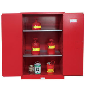 Chemical Safety Cabinets Combustible Liquid Storage Sentinel Fire Proof  Cabinet Photo