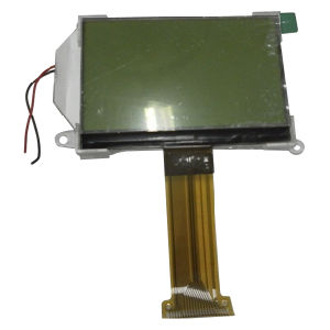 RoHS Approved 128X64 Dots Stn Yellow-Green LCD Module Display with Green LED Backlight (VTM88870B03)