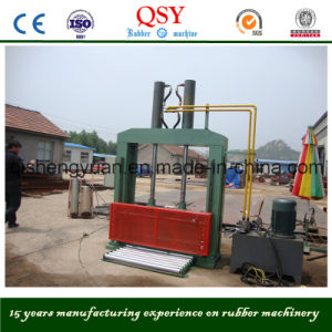 Xql-80, 160 Hydraulic Electric Rubber Bale Cutter pictures & photos
