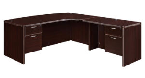 Modern High Quality MFC Board Office Furniture Office Resersible Return Table and Desk