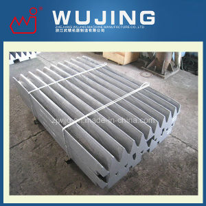 Wear Resistant Part Professional Design High Manganese Steel Cast Corrugated Jaw Plate