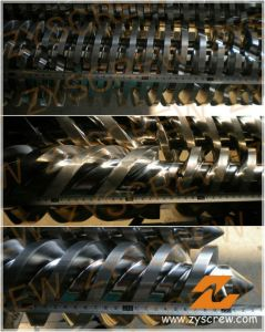 PVC Twin Extruder Machine Screw Barrel pictures & photos