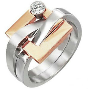 New Fashion Design Stainless Steel 316L Ring Jewelry