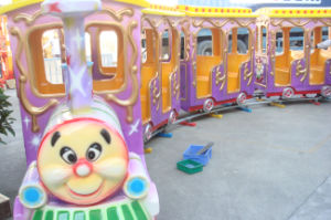 14 Seats Kid′s Amusement Rides Train Toy for Sale (LT4073B)