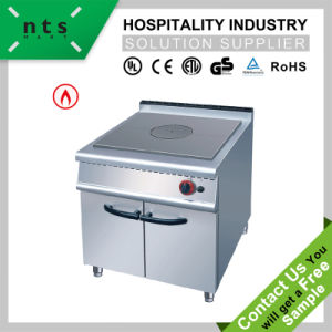 Gas Hot Plate with Cabinet for Hotel and Restaurant Kitchen Equipment pictures & photos