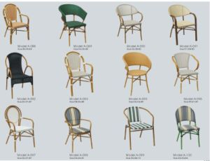 French Provincial Furniture/Stackable Cafe Chair/Cane Chair (A 088)