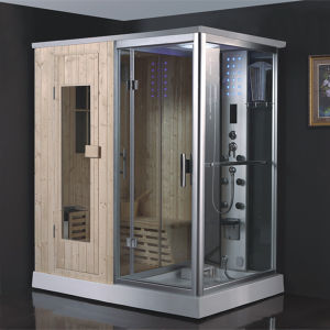 Deluxe Steam Sauna Shower Room Three in One (RY8001) pictures & photos