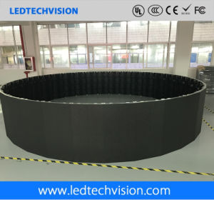 Chinese LED Display Supplier, P3.91mm Curved Rental LED Display
