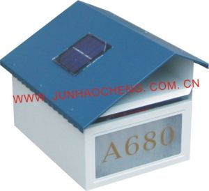 Solar Energy Metal Mailbox/Letter Box (JHC-1051C)