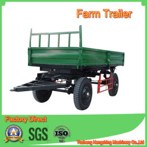 5t Side Dump Farm Trailer in Tipping Type pictures & photos