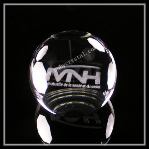Laser Crystal Ball Paperweight with Flat Bottom (ND-1016) pictures & photos