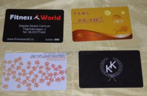 Colorful Printing Store Department PVC Magnet VIP Membership Card pictures & photos
