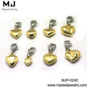 Stainless Steel Heart Pendant (MJP-0242)
