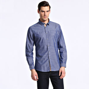 2016 Dress Shirt for Men New Fashion/Latest Design High Quality Mens Dress Formal Shirts Bulk pictures & photos