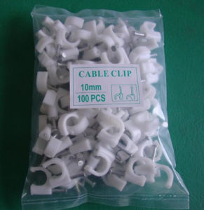 2015 High Grade PE Circle Cable Clip pictures & photos