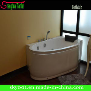New Hot Corner Classical Acrylic Massage Bathtub (TL-303) pictures & photos