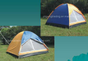 Durable Double-Skin Camping Tent for 3 Persons (JX-CT004) pictures & photos