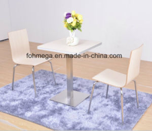 Two Seater Dining Table Set with Aluminum Sealing (FOH-NCP15) pictures & photos