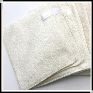 Natural High Quality Bamboo Fiber Kitchen Dish Towels Dish Cloths