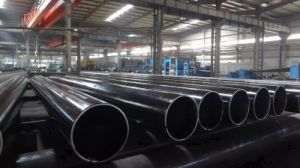 Welded Steel Pipe with External Coating According to DIN 30670