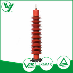 Yongde High Voltage 110kv Composite Silicone Housing Metal Oxide Lightning Arrestor pictures & photos