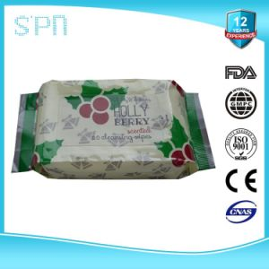 Private Label Facial Cleaning Make up Remover Wet Wipe pictures & photos