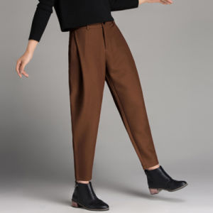 Women Winter Fashion Cargo Harem Pants Plus Size pictures & photos