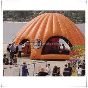 Orange Color Custom Made Inflatable Tent for Business Advertising Use