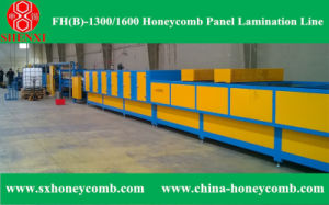 Hf (B) -1450 Honeycomb Panel Lamination Line pictures & photos