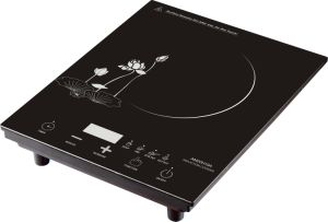 Black Crystal Glass Touch Control 2000W Induction Cooktop (AM20H19A) pictures & photos