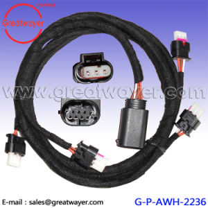 china gti radar wire harness 3 pin connector vw china radar gategti radar wire harness 3 pin connector vw