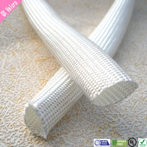 RoHS Flexible Insulating Heat-Treated Fiberglass Sleeving pictures & photos