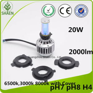 Auto LED Headlight for Motorcycle 24W 2000lm pictures & photos