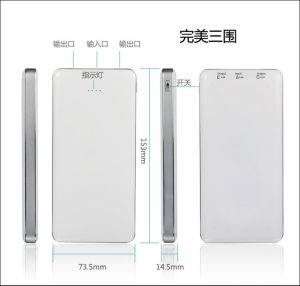 12000mAh Ultra Thin Dual USB for LG Li-Polymer Power Bank/LED Power Display Tablet PC Portable Charger