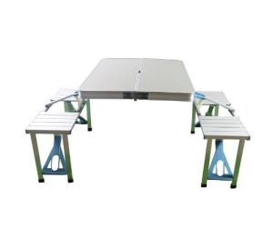 Aluminium Foldable Picnic Camping Table Durable Lightweight Portable Desk