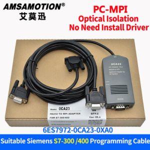 PC-Mpi Adapter Compatible Siemens S7-300/400 PLC Programming Cable  6es7972-0ca23-0xa0 Download Line