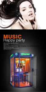 Attractive 520 Mini KTV Karaoke Singing Song Music Room Coin Operated Game Machine pictures & photos