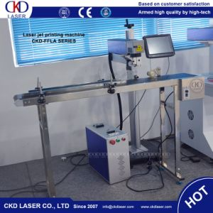 Flying Online Fiber Laser Marker Marking Machine pictures & photos