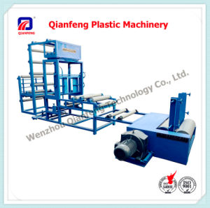 Vertical Edge Gusseting/Inserting Machine for Woven Bag Manufacture pictures & photos