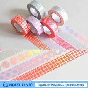 Golden Print Washi Masking Paper Tapes Scrapbooking Paper Craft DIY Home Decor