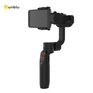 Folding 3-Axis Handheld Gimbal Stabilizer for Smartphone pictures & photos